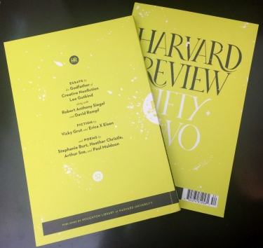 Harvard Review, 52